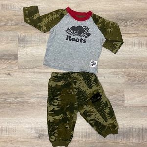 Roots Camo Matching Outfit